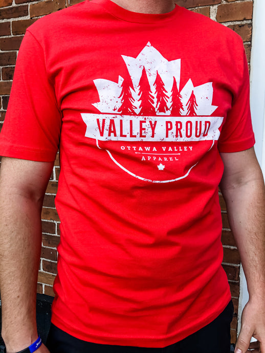 Canadian Valley Proud Tee - Red