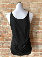 Valley Girl Women's Slouchy Tank - Black
