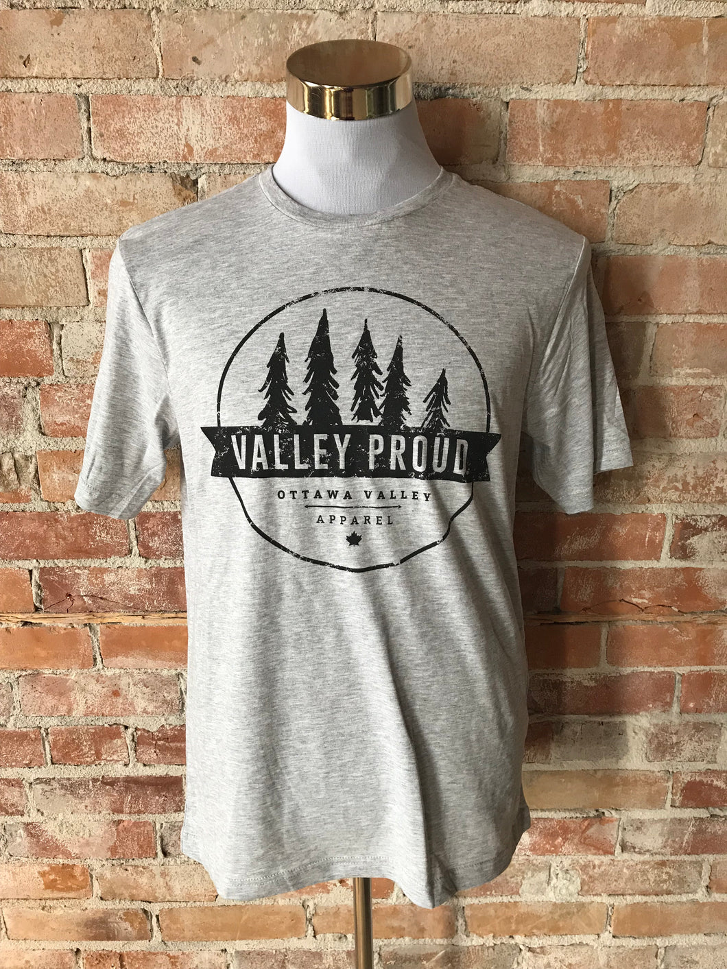 Classic Valley Proud Tee - Light Grey