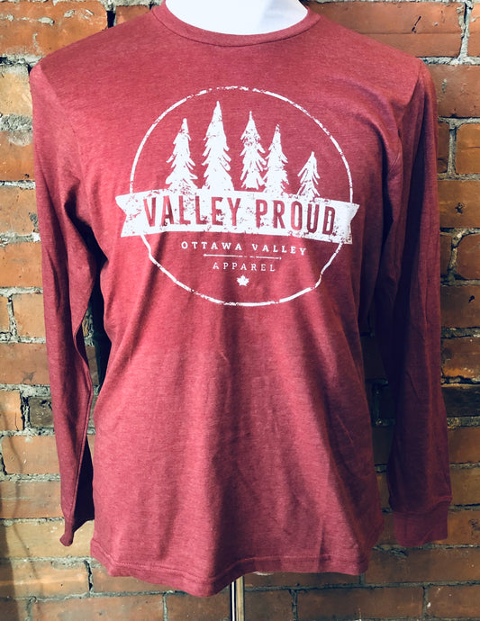 Classic Valley Proud Long Sleeve - Burgundy