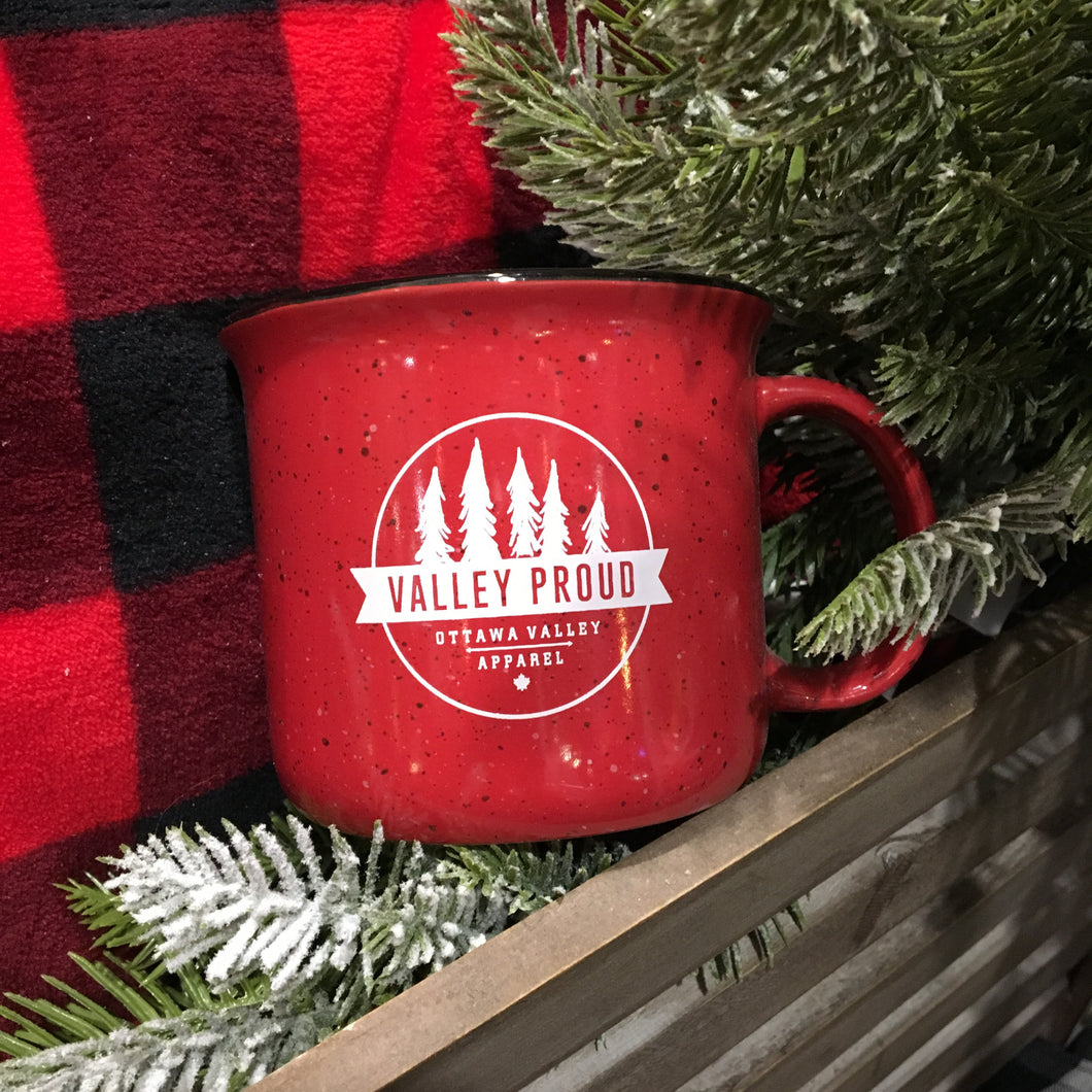 Classic Valley Proud Ceramic Mug - Red