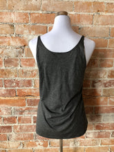 OVA Arrow Women's Slouchy Tank - Charcoal