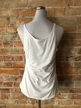 River Women's Slouchy Tank - White