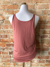 Classic Valley Proud Women's Slouchy Tank - Rose
