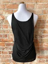 Classic Valley Proud Women's Slouchy Tank - Black