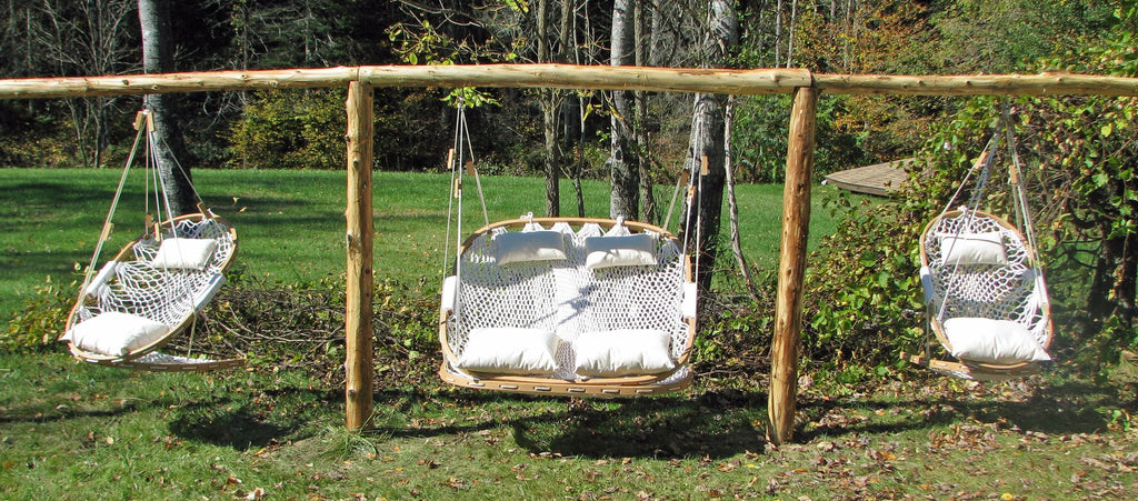 RECLINING HAMMOCK CHAIR SWING WITH FOOTREST