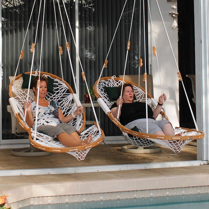 HAMMOCK CHAIR SWING WITH FOOTREST   KING
