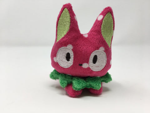 Strawberry Kitty mini plush