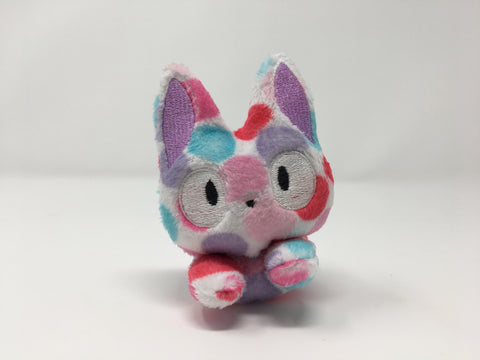 Polkadot Kitty mini plush
