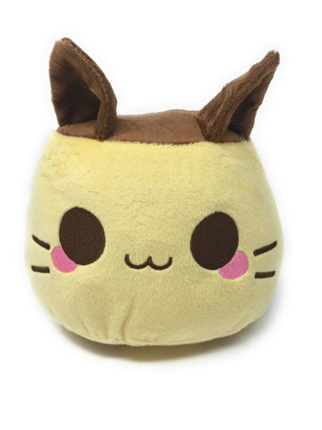 Carameow Flan Pudding Plush - Size Large