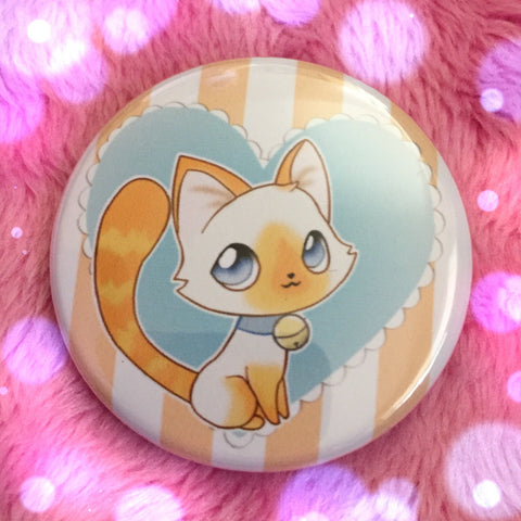 Flame Point Siamese Love Button