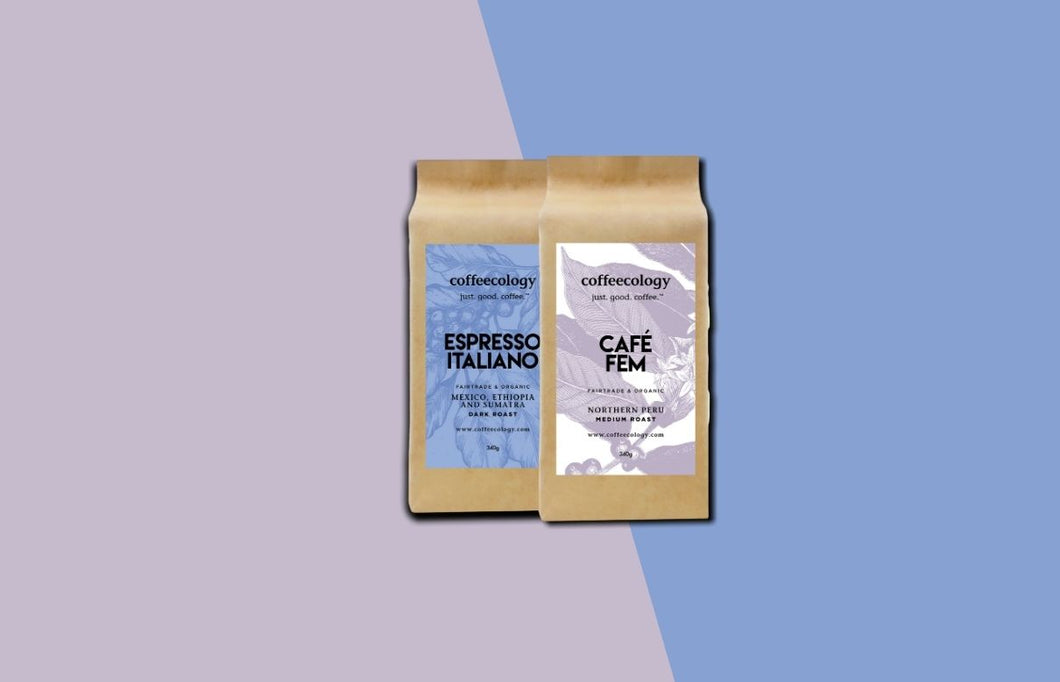 Introduction to Coffeecology Gift Subsciption (2 bags per month)