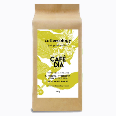 Cafe Dia (Medium/Dark Roast)- 5LB Bulk