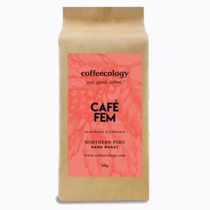 Cafe Fem Peru (Dark Roast)- 5LB Bulk