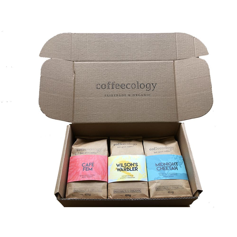 Coffee of the month box