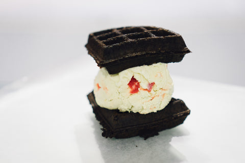 Mac-daddy-black-chocolate-waffle-pistachio-cherry-ice-cream