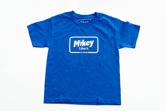 Kids Mikey Likes It Ice Cream Logo Tshirt