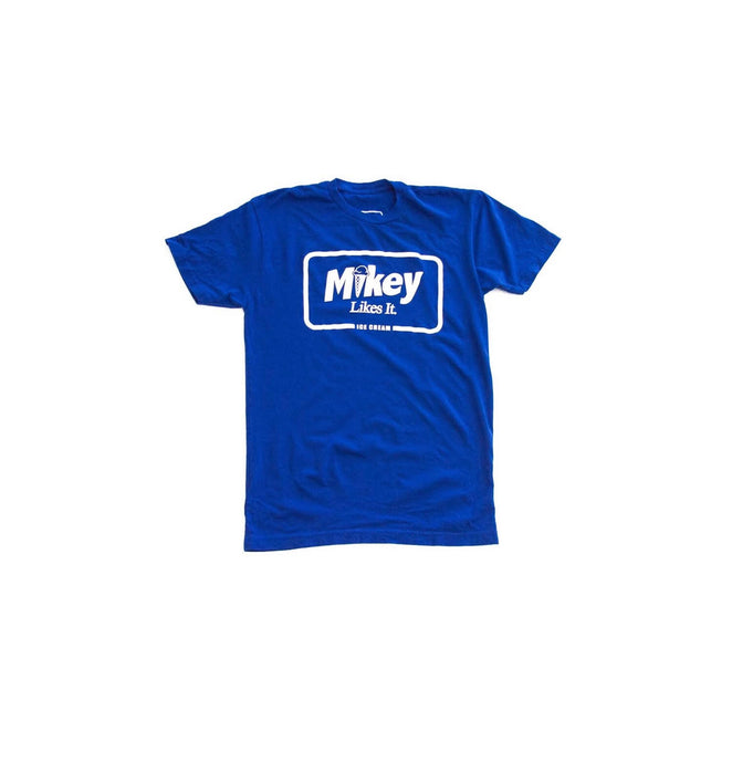 Mikey Likes It Ice Cream Core Text Logo T-Shirt