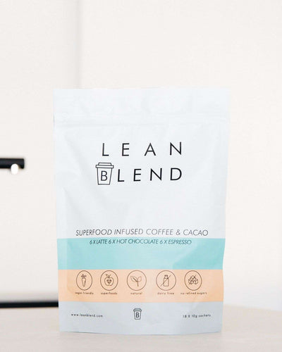 Superfood Infused VARIETY 18 sachets - Lean Blend