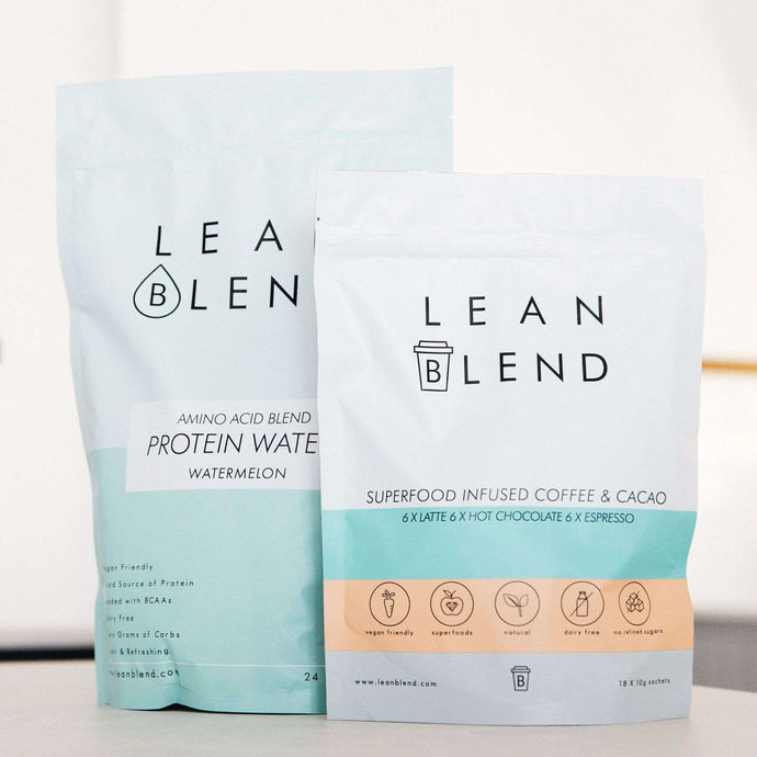 Superfood Coffee/Cacao + Protein Water Bundle - Lean Blend
