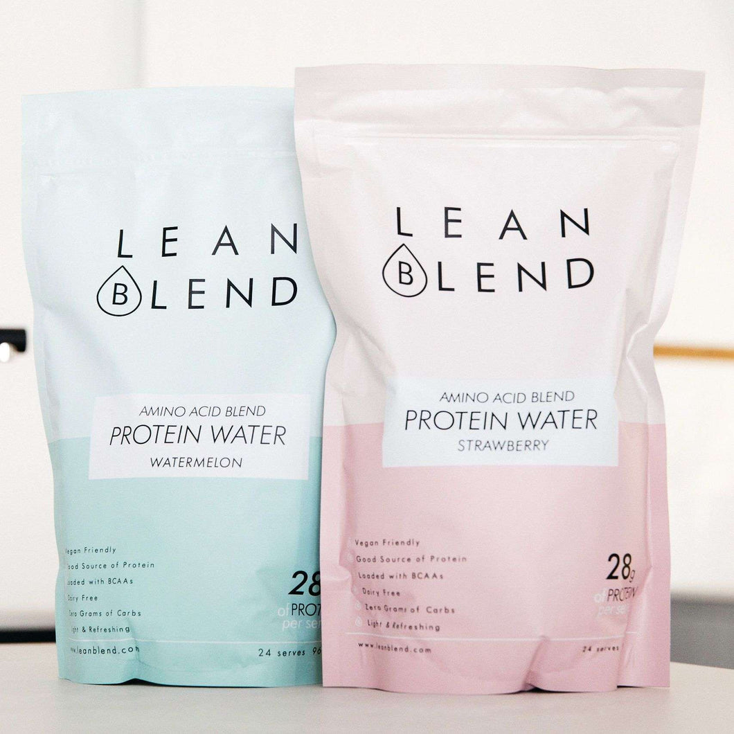Protein Water Bundle - Strawberry & Watermelon - Lean Blend