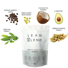 Superfood Infused ESPRESSO 24 sachets - Lean Blend