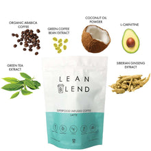 Superfood Infused LATTE 24 sachets - Lean Blend