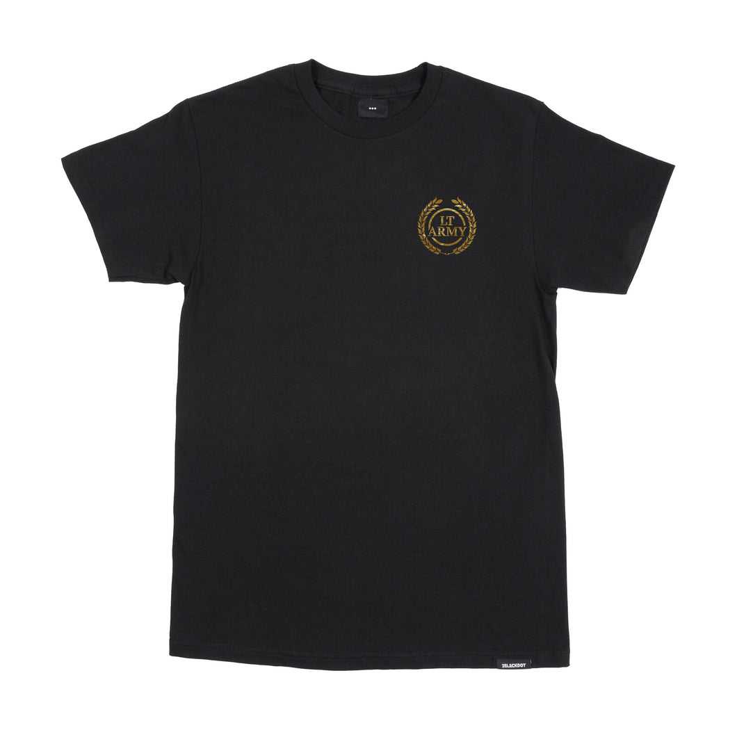 Limited Edition - Coat of Arms Tee (Black/Gold Foil)
