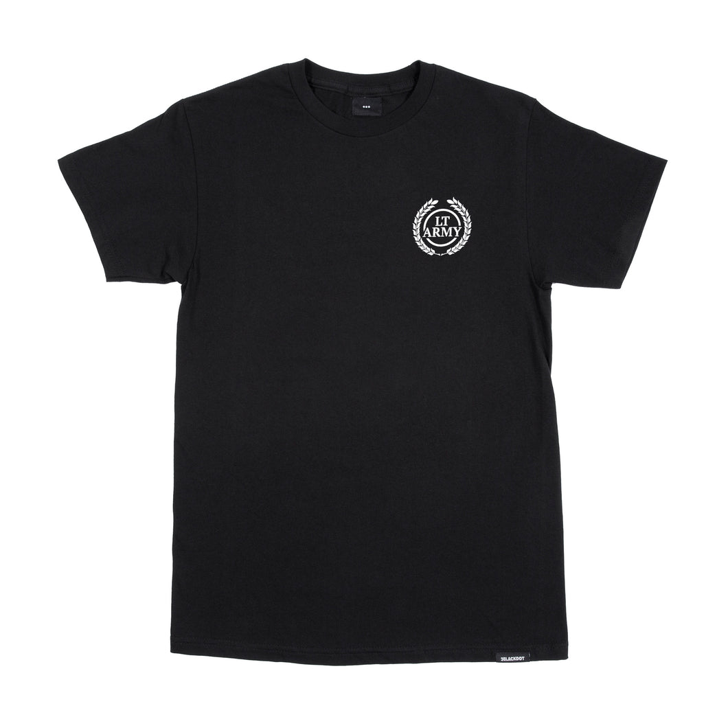 Coat of Arms Tee (Black/White)