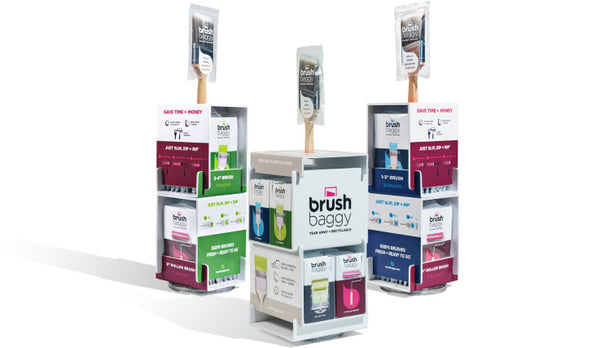 BrushBaggy Store Display