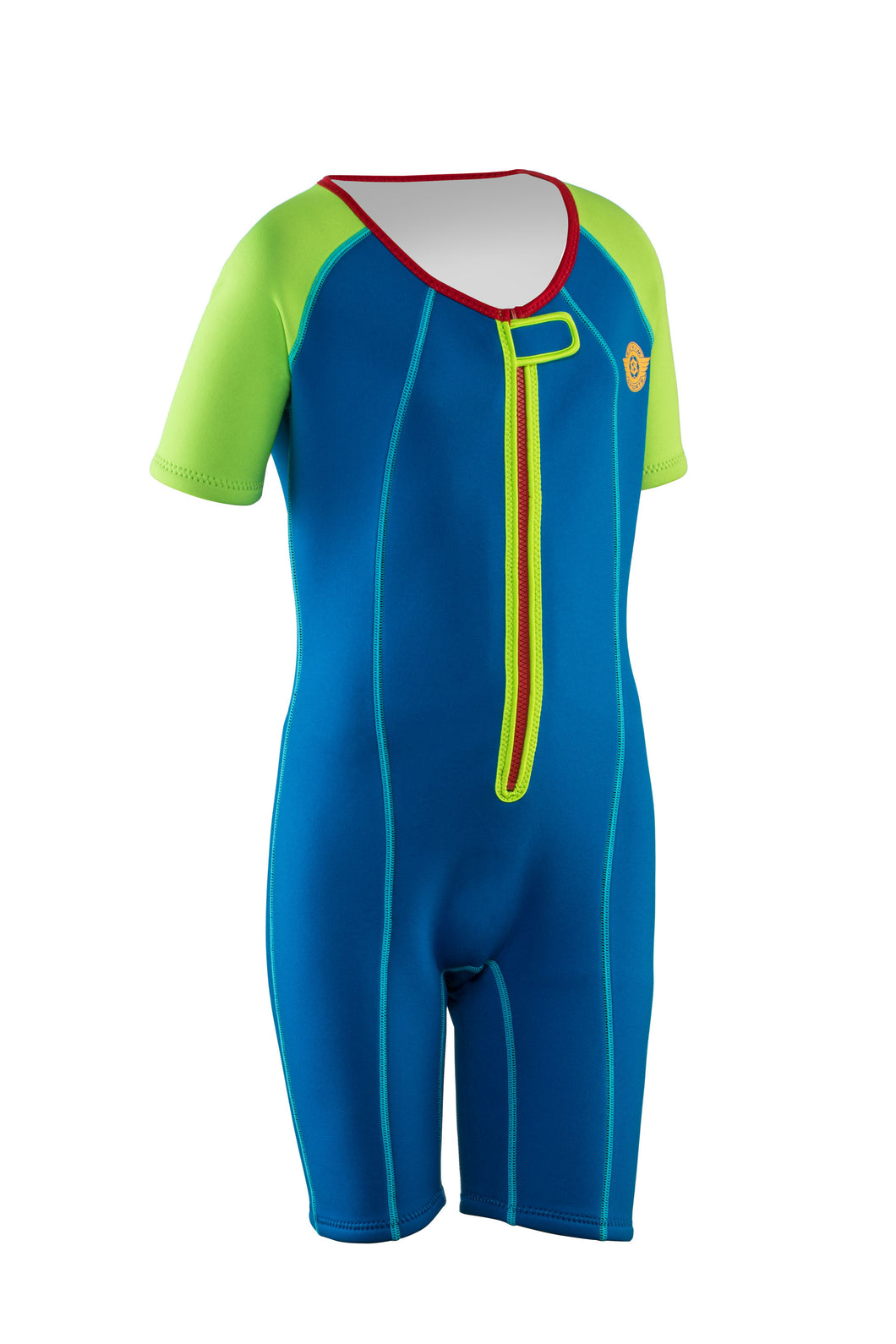 One Piece Boys Wetsuit Blue/Turquoise