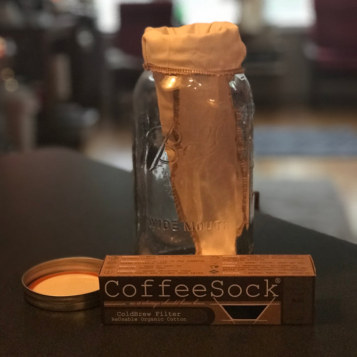 CoffeeSock® DIY ColdBrew Half-Gallon Filter