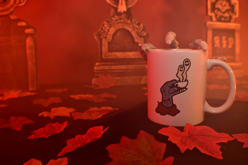 ROAST IN PEACE Ceramic Coffee Mug