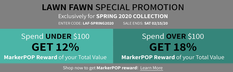 LAWN FAWN SPRING 2020 PROMOTION