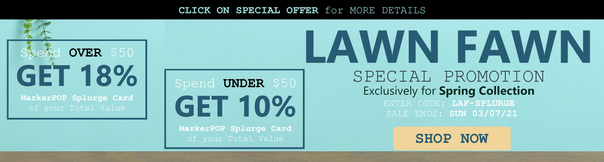 Lawn Fawn Spring 2021 Special Promotion