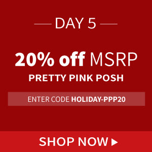20% off Pretty Pink Posh