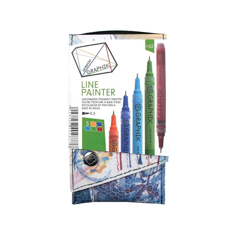 Graphik Line Painter 5pc Palette 2