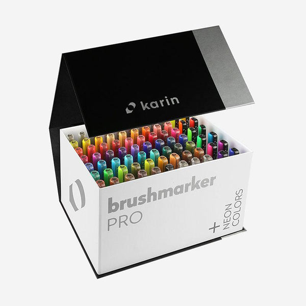 Karin Brushmarker PRO Mega Box PLUS 72pc 3 Blenders