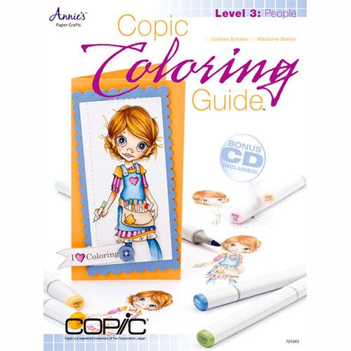 Annie's Attic Paper Crafts - COPIC Coloring Guide Level 3: People