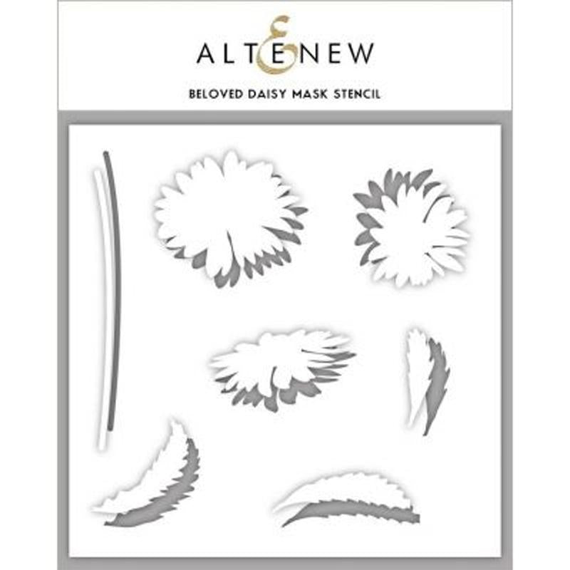Altenew Mask Stencil - Beloved Daisy