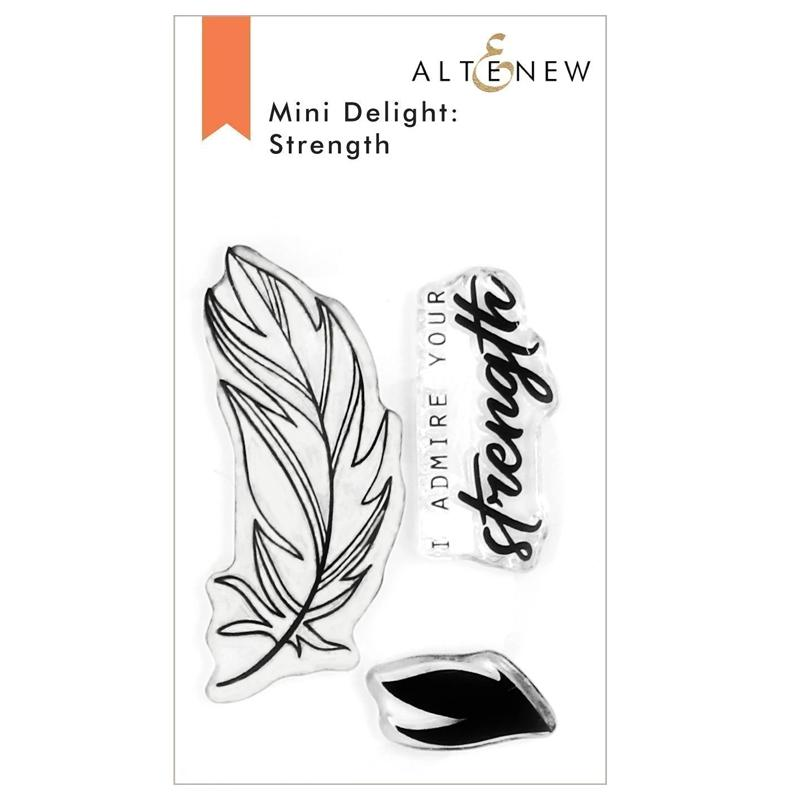 Altenew Clear Stamps Mini Delight: Strength