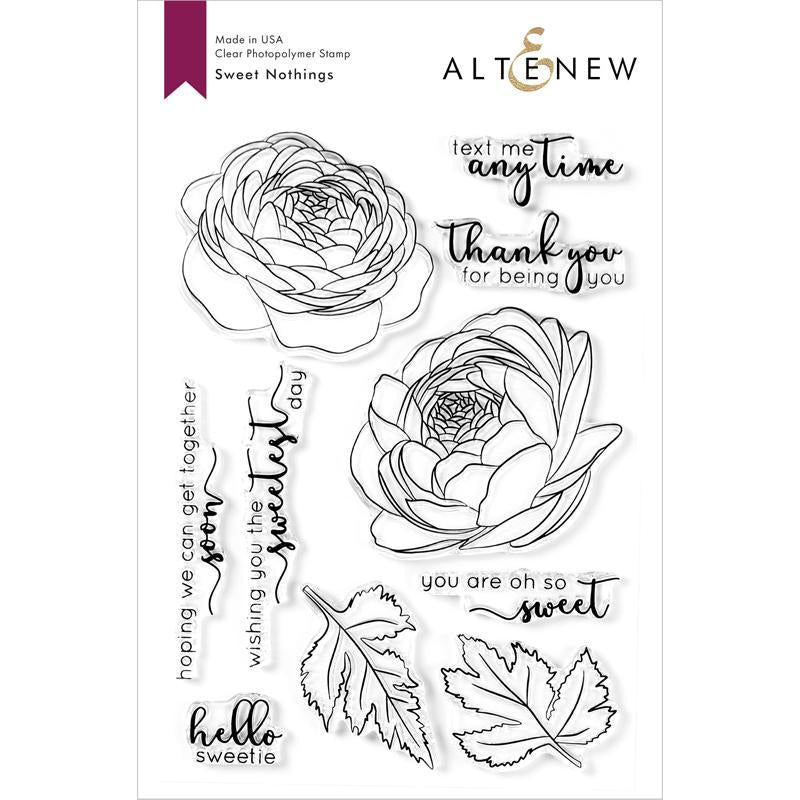 Altenew Clear Stamps Sweet Nothings