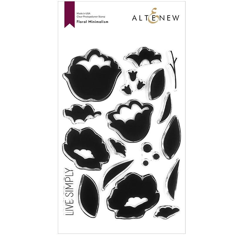 Altenew Clear Stamps Floral Minimalism