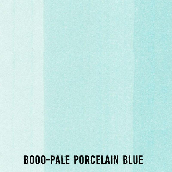COPIC Ink B000 Pale Porcelain Blue