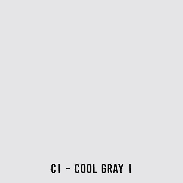 COPIC Wide Marker C1 Cool Gray No. 1