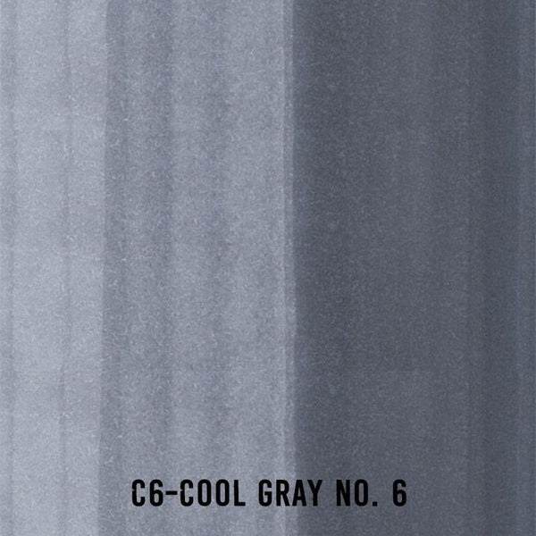 COPIC Ink C6 Cool Gray
