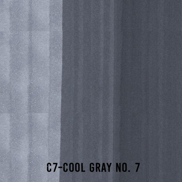 COPIC Ink C7 Cool Gray