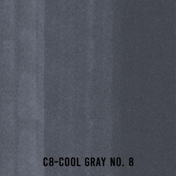 COPIC Ink C8 Cool Gray