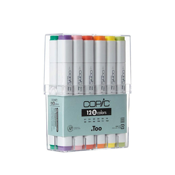 Copic Original Marker 12Pc Basic Markers