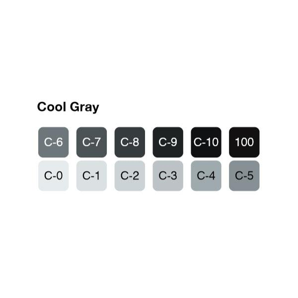 COPIC Original Marker 12pc Cool Gray